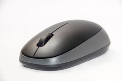 Black and grey wireless mouse Royalty Free Stock Image