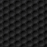 Black grid seamless pattern Stock Image