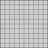 Black grid on white paper tileable Royalty Free Stock Images