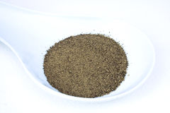 Black Ground Pepper. Food & Drinks - Condiments - Black ground pepper stock photo