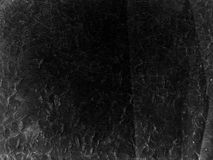 Black grunge paper texture for background Royalty Free Stock Photography
