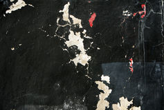 Black grunge wall background Stock Photos