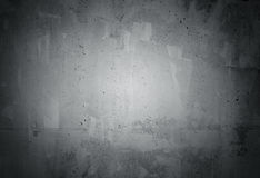 Black grunge weathered concrete wall texture stock image