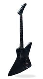 Black guitar Stock Photography