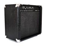 Black guitar amplifier Royalty Free Stock Image