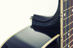 Black guitar deck Stock Photography