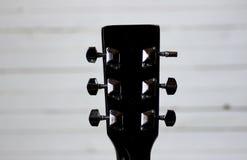 Black guitar neck Stock Photo