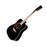 Black guitarblack guitarblack guitar Royalty Free Stock Photography