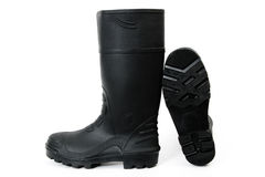 Black Gumboots Royalty Free Stock Photo