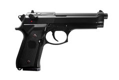 Black gun Stock Photography