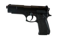 Black gun royalty free stock image