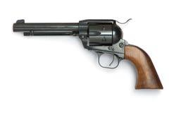 Black gun. On a white background Stock Photography