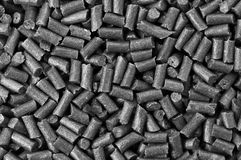 Black gunpowder. Abstract background macro Royalty Free Stock Photo
