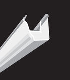 Black guttering royalty free illustration