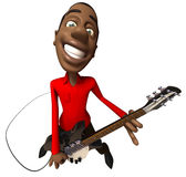 Black guy rocking Royalty Free Stock Images