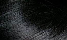Black hair Stock Image