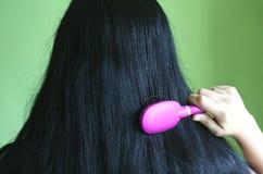 Black hair Stock Image