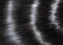 Black Hair Background Royalty Free Stock Photography