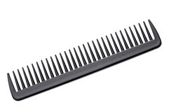 Black Hair Comb stock photos