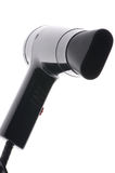 Black hair drier macro Royalty Free Stock Images