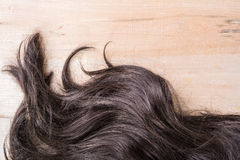 Black Hair Texture Stock Photos