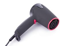 Black hairdryer Royalty Free Stock Photo