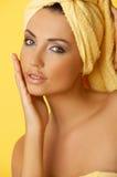 Black haired Beauty Stock Photos