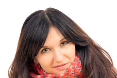 Black haired woman Royalty Free Stock Photo