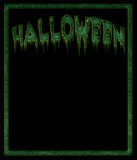 Black Halloween background Stock Image