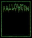 Black Halloween background Stock Image