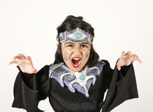 Black Halloween costume Royalty Free Stock Photos