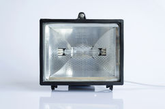 Black Halogen Lantern Royalty Free Stock Image