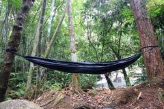 Black hammock Royalty Free Stock Photo