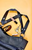 Black Hand Bag Royalty Free Stock Images