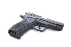 Black hand gun Stock Photos