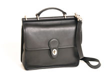 Black handbag Stock Photography