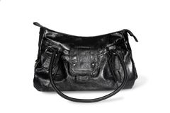 Black handbag Stock Image