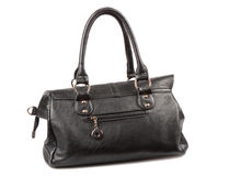 Black handbag Stock Photos