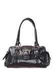 Black handbag Royalty Free Stock Image