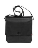 Black handbag Stock Images