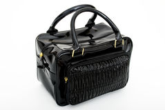 Black Handbag Royalty Free Stock Photography