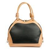 Black handbag isolated on white background. Royalty Free Stock Photos