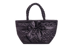 Black Handbag made Royalty Free Stock Photography