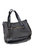Black handbag. On white background Royalty Free Stock Image