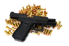 Black Handgun Royalty Free Stock Photos