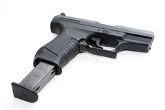 Black handgun Stock Image