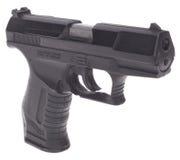 Black handgun Stock Image