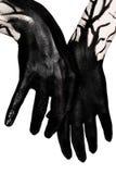 Black hands. Zombie apocalypse Royalty Free Stock Photo