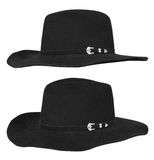 Black hat Royalty Free Stock Images