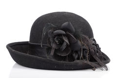 A black hat Royalty Free Stock Photography